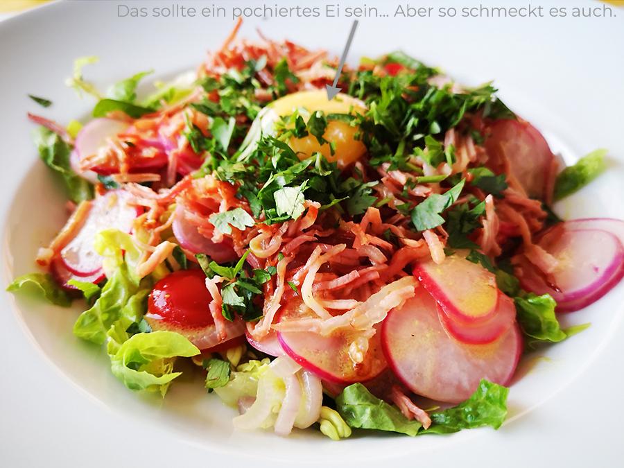 Salade à l'ancienne – mit sehr vielen Radieschen
