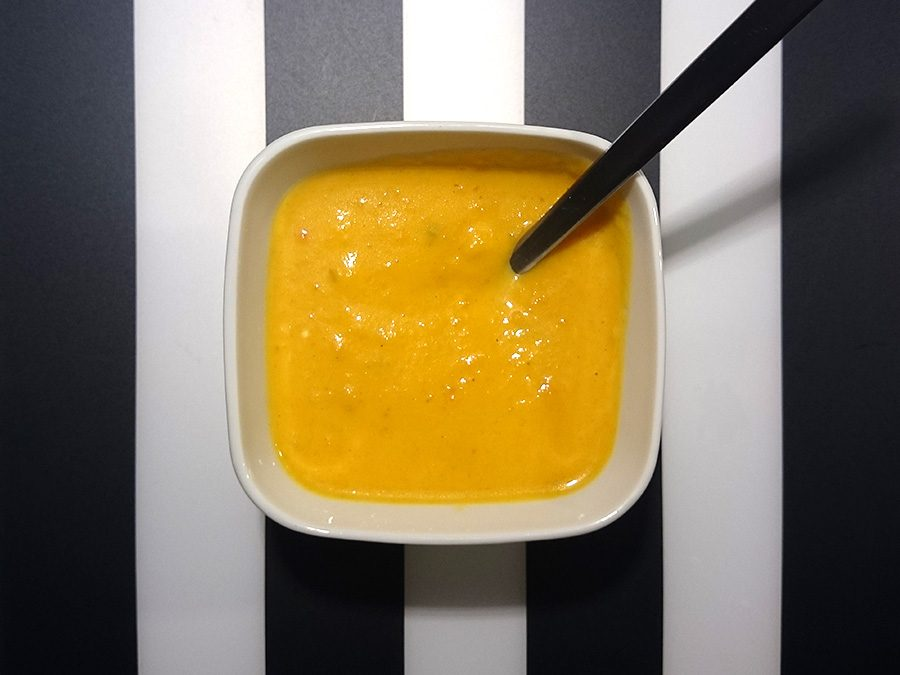Ingwer-Süßkartoffel-Suppe